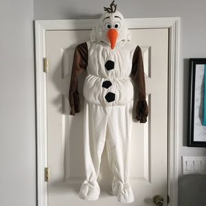 Olaf frozen costume new size 4/5T boys disney